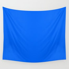 Unfinished ~ Bright Blue Wall Tapestry