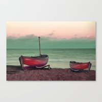 sailboat Canvas Prints featuring Sailboat by Regan's World