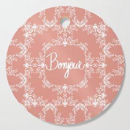 Bonjour - Autumn Peach Cutting Board