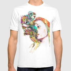 Liquid Dreams SMALL White Mens Fitted Tee