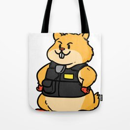 police policeman officer gift security guard law Tote Bag