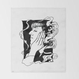 Aubrey Beardsley Throw Blanket