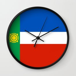 khakasiya flag Wall Clock