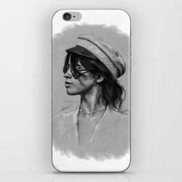 Camila Gray Sketch iPhone Skin