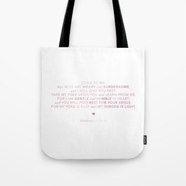 Come To Me | Pink Watercolor (for Lyndsie Brooker) Tote Bag