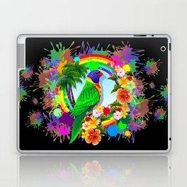 Rainbow Lorikeet Parrot Art Laptop & iPad Skin