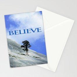 BELIEVE: A Motivational Affirmation Stationery Cards