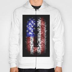 USA abstract  Hoody