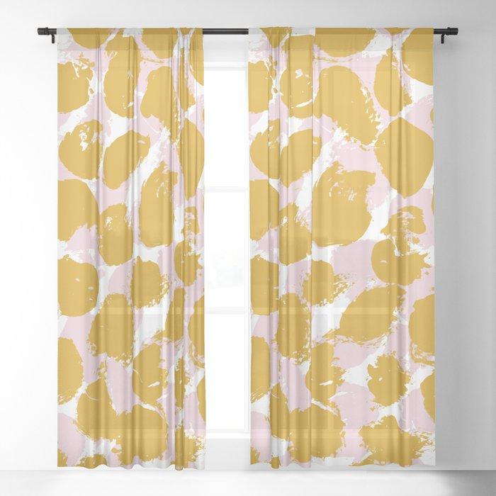 Pattern 062 Sheer Curtain
