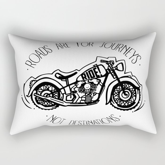 Roads are for Journeys Rectangular Pillow