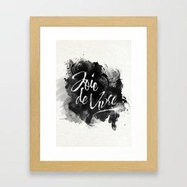 Joie De Vivre Framed Art Print