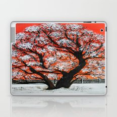 Snowy old tree Laptop & iPad Skin