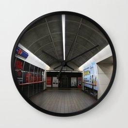 Corridor Granville Skytrain Station Wall Clock