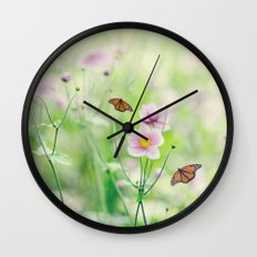 In the garden of bliss Wall Clock