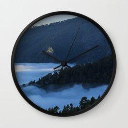 La Palma forest Wall Clock