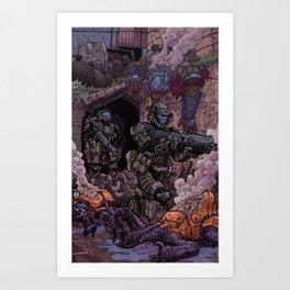 'Helljumpers' Art Print