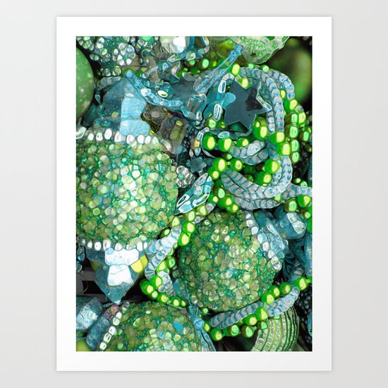 Sea Bling Art Print