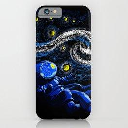 Starry Night Gravity iPhone Case
