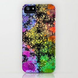 many dots III iPhone Case
