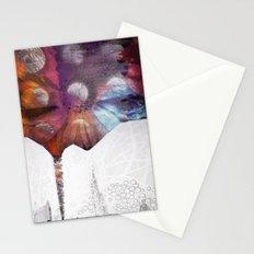 Lunar Flowering  Stationery Cards