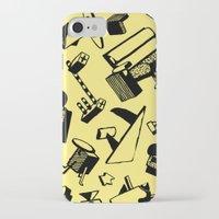 memphis iPhone & iPod Cases featuring Memphis by Mario Graciotti