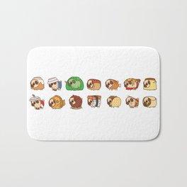 Puglie Food Collection 1 Bath Mat