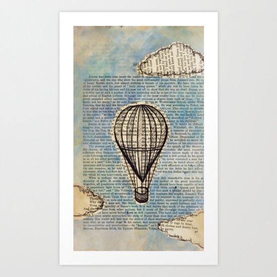 Drifting Slowly Art Print