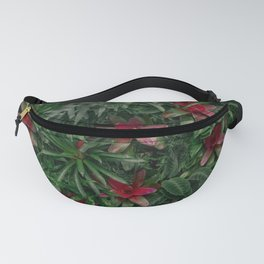A Wall of Plants Fanny Pack