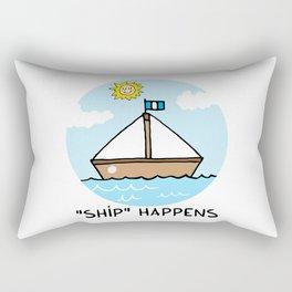 """SHIP"" happens Rectangular Pillow"