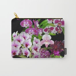 Orchids - Cool colors! Carry-All Pouch