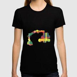 PLAID DIGGER T-shirt