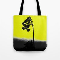 lonely Tote Bags featuring lonely  by Nikos