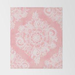 Marshmallow Lace Throw Blanket