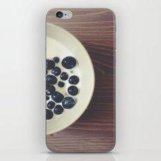 Blueberries I iPhone & iPod Skin