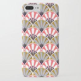 feather plume art deco fan iPhone Case