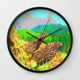 Pretty pretty clouds Wall Clock