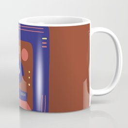 Mother Earth - Minimal Modern Mid-Century Snake Coffee Mug