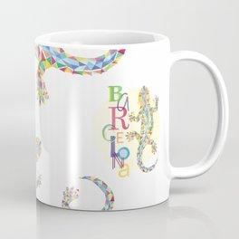 Barcelona City Lizard Coffee Mug