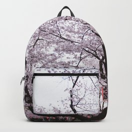 Cherry Blossoms in spring Backpack