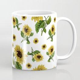 Sunflowers pattern Coffee Mug