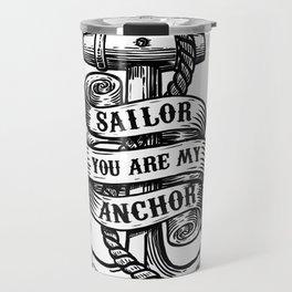 You Are My Anchor Travel Mug