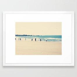 beach sunday I Framed Art Print