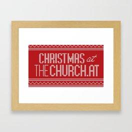 tC Christmas Framed Art Print