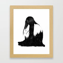 Consuming Ink Framed Art Print