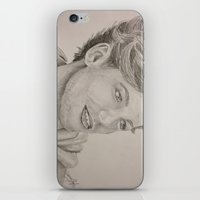louis tomlinson iPhone & iPod Skins featuring Louis Tomlinson by vanessa