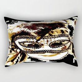 Maske Rectangular Pillow
