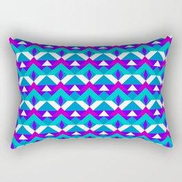 Angel's Geometric Pattern Rectangular Pillow