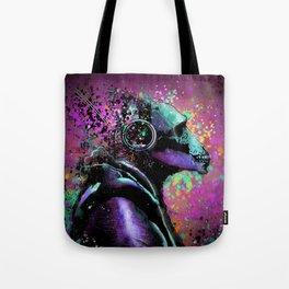 Splatter Ape Tote Bag