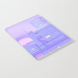 Blue Nostalgia Notebook