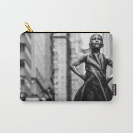 Fearless Girl New York City Carry-All Pouch